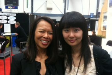 With Helen Li, Business Development Manager China, Auckland Airport