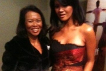 Farah Quinn, top Indonesian celebrity chef  & TV personality at TRENZ 2012, Queenstown, New Zealand