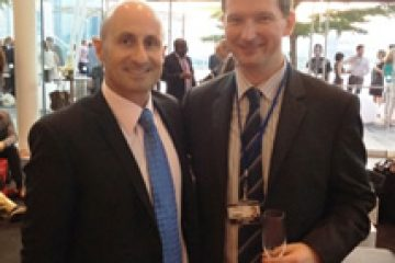 In Singapore with John Rimmer, Conference, Research & External Affairs Director for Tax Free World Association (TFWA)