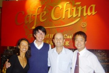 With Harry Sou, Owner Cafe China in Cairns, Trevor & Mark Trihn, VIP Services Manager at Reef Hotel Casino Cairns
