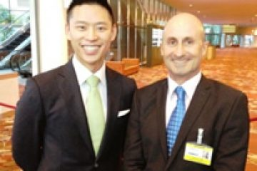 "In Singapore with Trevor Lai, author, artist, CEO of Up Studios & ""Thoughtful China"" host"