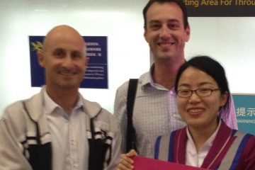 With Aviation Business Development Manager & passionate music buff Ben James on our trip to China in 2014
