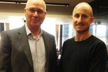 In Israel with Rafi Baeri,Vice President Sales & Marketing Dan Hotels Israel