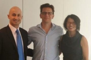 In Paris with Carlo Olejniczak, Deputy Senior Vice President Global Sales for ACCOR