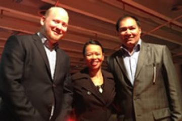 TRENZ 2014 with Graham Hills, Managing Director Wego Indonesia, & Sandeep Bahl, GM Asia Air New Zealand
