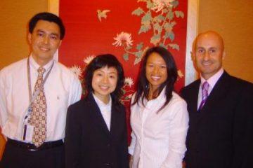 At Wynn Macau (WM) in 2007 with Choy Yin Chun, Director of Learning & Advancement WM, & Chloe Wong, Assistant Manager Training & Development WM