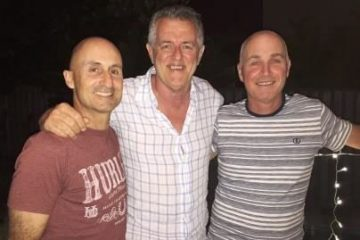 With Roger March & Ian Stutchbury - both instrumental in guiding TravConsult