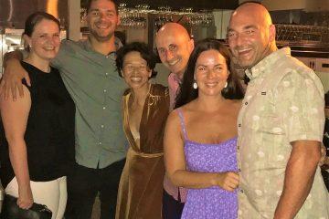 Jenny & Lucas Proudfoot along with Bree & Josh Sattler - fun & inspirational friends & colleagues