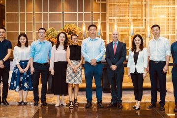 We met with Chairman Xie & his Executive Team of Shenzhen Airport Aerotropolis Operation Management Co Ltd in 2018 to explore collaborations - exciting times